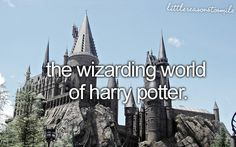 every true harry potter fan should go... it's out of this world
