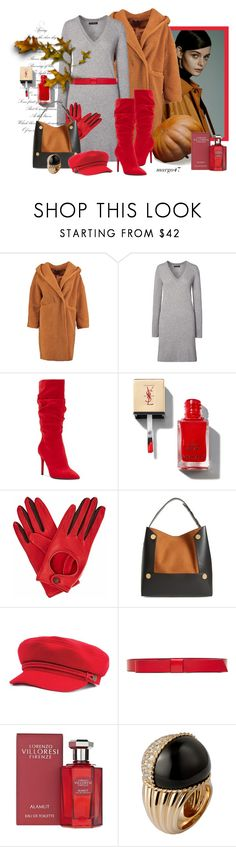 """jesienne"" by margo47 ❤ liked on Polyvore featuring Boohoo, Jessica Simpson, Gizelle Renee, STELLA McCARTNEY and Marni"