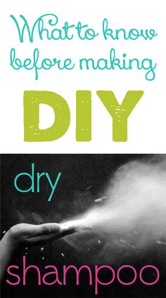 DIY Dry Shampoo to freshen up hair after wearing a wig or hat.