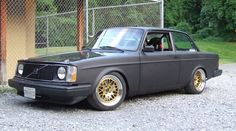 Volvo 242 gt turbo - Ugly cars can be brilliant