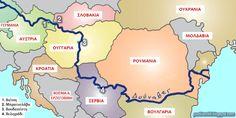 Χώρες που περνάει ο Δούναβης