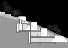 semi ipogea house on Architizer