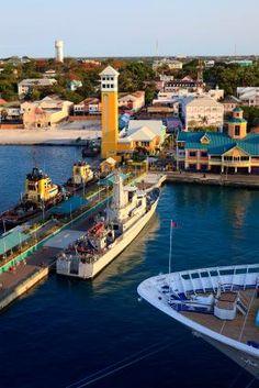 Bahamas Nassau pier