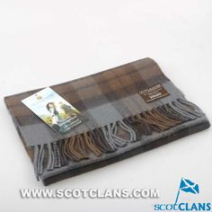 Official Outlander Tartan Lambswool Scarf