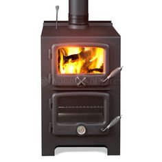 The Vermont Bun Baker Wood Stove is unique and beneficial to any home or cottage. Promoting versatility and natural beauty, this wood stove can be used for a baking oven, broiler, or cook top.
