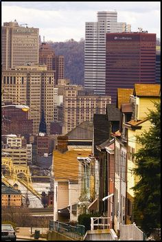 Pittsburgh, Pennsylvania (7860 - North Slopes Perspective by Artistic Pursuits-Rob Strovers, via Flickr)