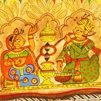 Phad Paintings. Rajasthan.
