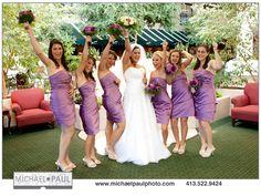Fall Wedding Bridal Party from a September 2011 wedding  michaelpaulphoto.com