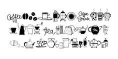 Coffee & Tea Doodles™ - Webfont & Desktop font « MyFonts