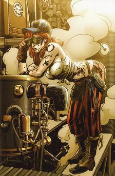 Brian Denham Victorian Secret Girl of Steampunk