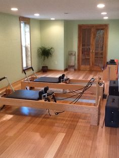 New and improved pilates studio...