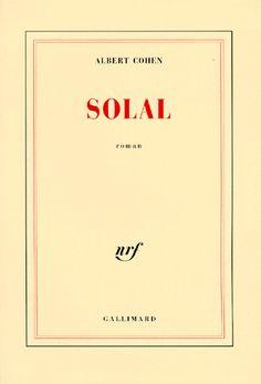 Solal - Albert Cohen