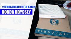 Tutorial Memasang filter Kabin Honda Odyssey