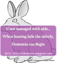This is true for my father. Hearing loss can cause issues with communication that lead to dementia