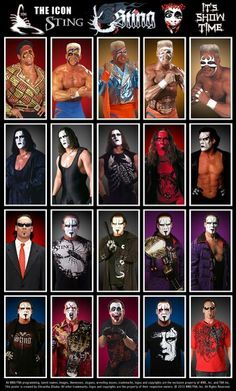 WWE Batista Poster featuring his various looks throughout his career. Wrestling Posters, Watch Wrestling, Wrestling Wwe, Shawn Michaels, Lucha Underground, Undertaker, Wwe Lucha, Sting Wcw, Wwe Tna