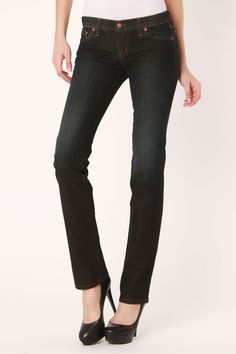 Nikki Mid Rise Straight Leg Jeans In Corfu Clean http://www.beyondtherack.com/member/invite/B7C53751