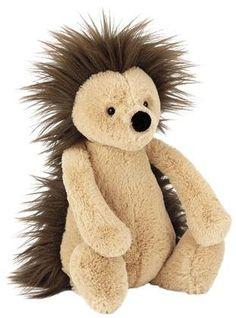 http://www.infanteducationaltoys.com/category/jellycat/ Jellycat Jellycat Bashful Hedgehog Medium - Free Shipping