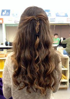 My hair~~ :)