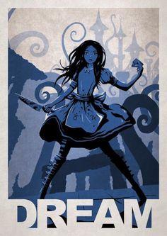 Alice Madness Retunr - 10 affiches sublimes et créatives de jeux vidéo