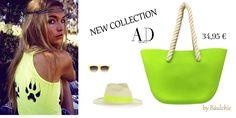 ¿Quieres un toque #Flúor y #CHIC este verano? Apuesta por nuestra propuesta de hoy, un #bolso súper original que podrás llevar con un outfit casual, en la piscina ó en la playa. Disponible en varios colores. ¡Descúbrelos en nuestra sección NEW COLLECTION.  http://www.baulchic.com/new-collection/415-bolso-ad-design.html  #moda #estilo #newcollection #ADDesign #fashion #style #handbags