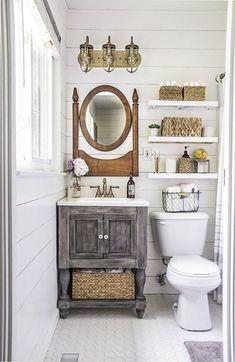 Gorgeous 75 Modern Farmhouse Style Bathroom Remodel Decor Ideas https://homemainly.com/1952/75-modern-farmhouse-style-bathroom-remodel-decor-ideas