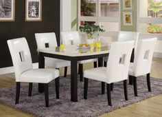 5 Pc Dining Table Set Archstone Collection