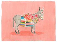 Caitlyn McGauley - donkey