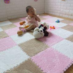 Baby Playmats Floor Puzzle Mat Kids EVA Foam Carpet Children Soft Developing Crawling Play Game Mat in a bag Eva Schaum, Puzzles, Unicorn Room Decor, Carpets For Kids, Foam Flooring, Floor Puzzle, Enigma, Carpet Sale, Shopping