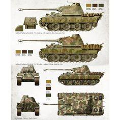 Sun Tzu, Panther, Military Paint, Model Tanks, World Of Tanks, World War Ii, Military Vehicles, Diorama, Wwii