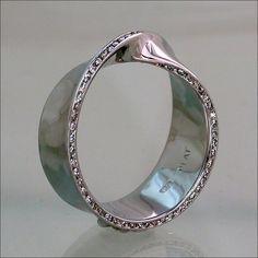Ring | Phillip Schmidt. Platinum, diamonds