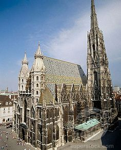Stock Photo #1566-367246, St. Stephen´s Cathedral (Stephansdom). Vienna. Austria