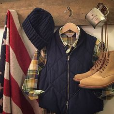 Stop by the shop or check out the website for all your fall needs this season! #menswear #engineeredgarments #eg #fivebrother #howlin #knitw...