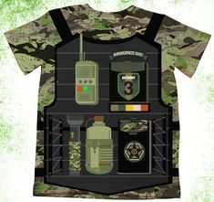 a3e5375b7 Personalized Military T-Shirt