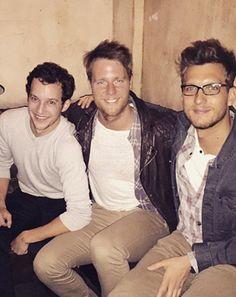 OHMYGOSH!! Greek Reunion: Scott Michael Foster, Jake McDorman Bro Out in Photo - Us Weekly