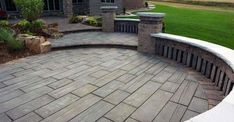 Discover years of resplendent lunging, dining and entertaining with the top 60 best concrete patio ideas. Explore backyard retreats with minimal upkeep. Concrete Patios, Concrete Backyard, Concrete Patio Designs, Outdoor Patio Designs, Patio Ideas, Pergola Ideas, Stamped Concrete Patterns, Driveway Ideas, Cheap Pergola
