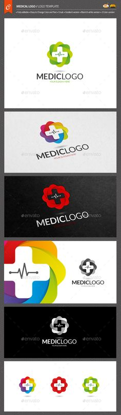 Medical Logo Template AI Illustrator. Download here: https://graphicriver.net/item/medical-logo/12515079?ref=ksioks