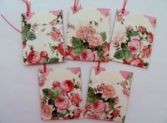 Gift Tags Thank You Tags Escort cards by SassyScrapsCrafts on Etsy, $3.50