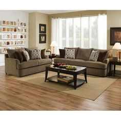 Red Barrel Studio Seminole Configurable Living Room Set is part of Simple Living Room Red - Simple Living Room Decor, Living Room Red, Living Room Interior, Living Room Furniture, Kitchen Interior, Sofa Upholstery, Living Room Remodel, Apartment Living, Room Set