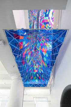 Colorful Stained Glass Installation by Softlab – Fubiz Media