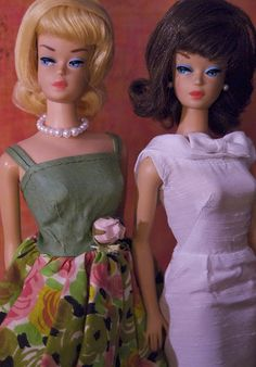 Fashion Queen Barbies - original and reproduction