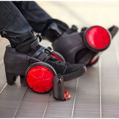 Electric Skates - These are the motorized electric roller skates that propel a wearer at up to 8 mph