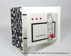 Stampin up stampinup stamping pretty mary fish holiday home 6
