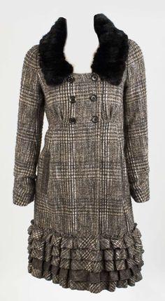 Louis Vuitton  Coat. Cost £3200. - http://www.pandoradressagency.com/latest-arrivals/product/louis-vuitton-54/