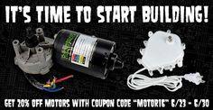 Get 20% off all motors at FrightProps! Coupon code MOTOR16! http://www.frightprops.com/electric-motors/motors.html