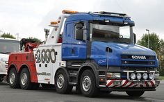Scania T164 8x4 of Depannage 2000 in France Ditzj.de -