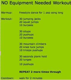 No Excuses Workout (workout,fitness,healthy,exercise) Fitness Nutrition, Fitness Tips, Fitness Motivation, Workout Fitness, Easy Fitness, No Excuses Workout, No Equipment Workout, Sweat It Out, I Work Out