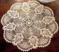 http://www.crochetkingdom.com/beautiful-doily-crochet-pattern/ - Beautiful doily crochet pattern