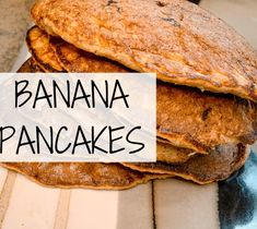 The best banana pancakes for your weekend