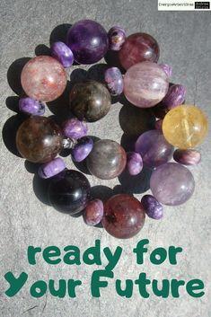 * AURALITH CHAROIT ARMBAND * Auralite Charoite Bracelet* Healing, Gemstones, Ebay, Detail, Bracelets, Armband, Bracelet, Therapy, Gems