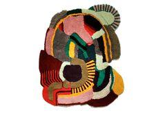 Tapetes artísticos por Jonathan Josefsson #rug #art #graffiti